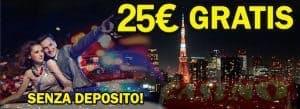 bonus senza deposito 2021 casino online