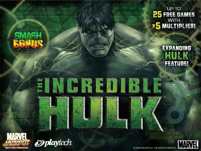 Recensioni videoslot: Incredible Hulk