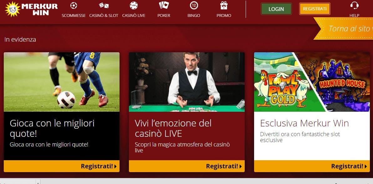 merkur win casino recensione