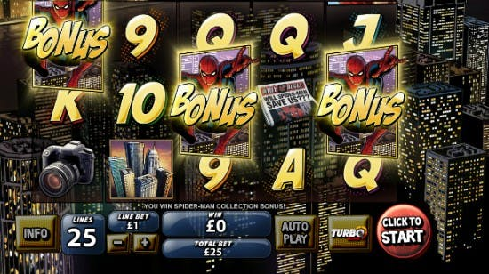 Spiderman – Recensione slot machine