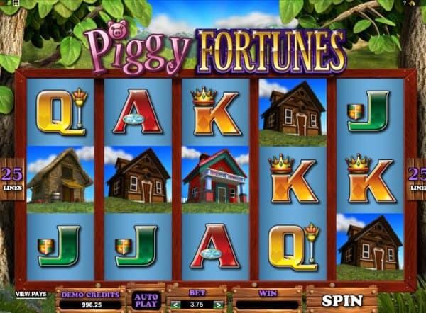 <strong>Piggy Fortunes: la fiaba dei tre porcellini e del lupo cattivo in una simpatica slot machine</strong>