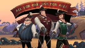 La videoslot The Three Musketeers
