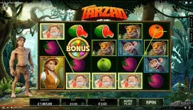 Tarzan Videoslot di Microgaming