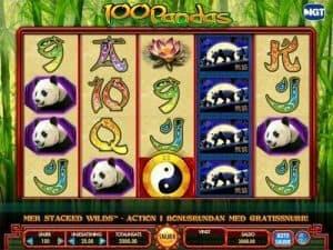 100 pandas videoslot