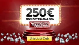 Bonus garantito di Skybet: unisciti al Royal Club