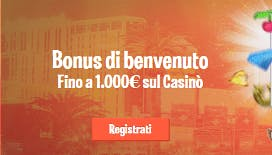 nuovo bonus di benvenuto Leovegas fino a 1000€ di bonus e 70 giri gratis