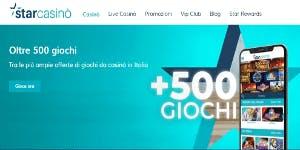 Nuovo look Starcasinò: un sito ancora più dinamico