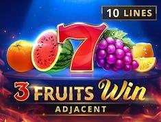 3 Fruits Win: 10 Lines logo