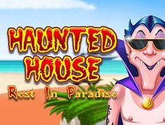 Haunted House Rest in Paradise logo