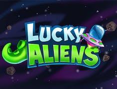 Lucky Aliens logo