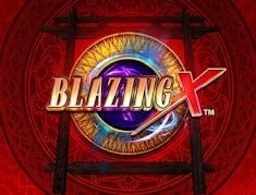 Blazing X logo