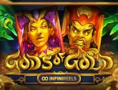 Gods of Gold Infinireels logo