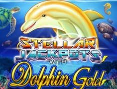 Dolphin Gold with Stellar Jackpots logo