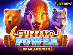 Buffalo Power Hold and Win logo