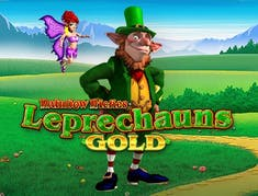 Rainbow Riches Leprechaun Gold logo