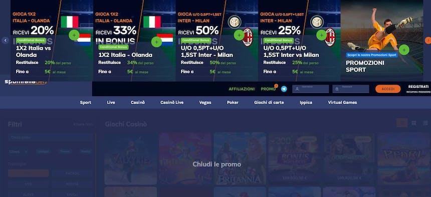 Bonus e Promozioni di SportItaliaBet