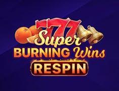 Super Burning Wins: Respin logo
