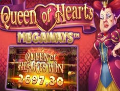 Queen of Hearts Megaways logo