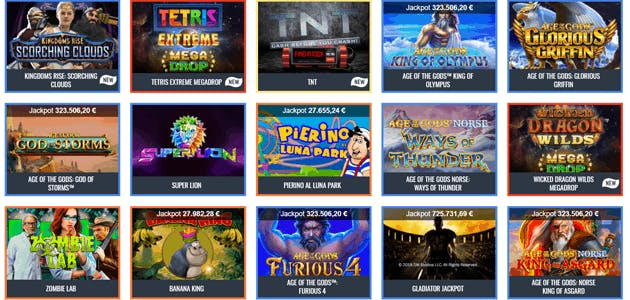 Snai presenta quattro nuove slot con jackpot