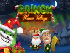 Grinch Xmas Village logo