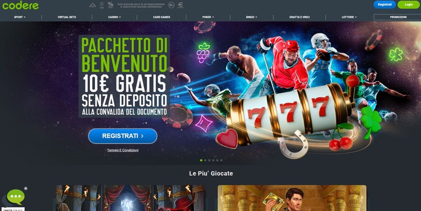 Slot online con Codere