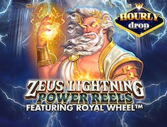 Zeus Lightning: Power Reels logo