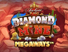 Diamond Mine Extra Gold Megaways Jackpot King logo