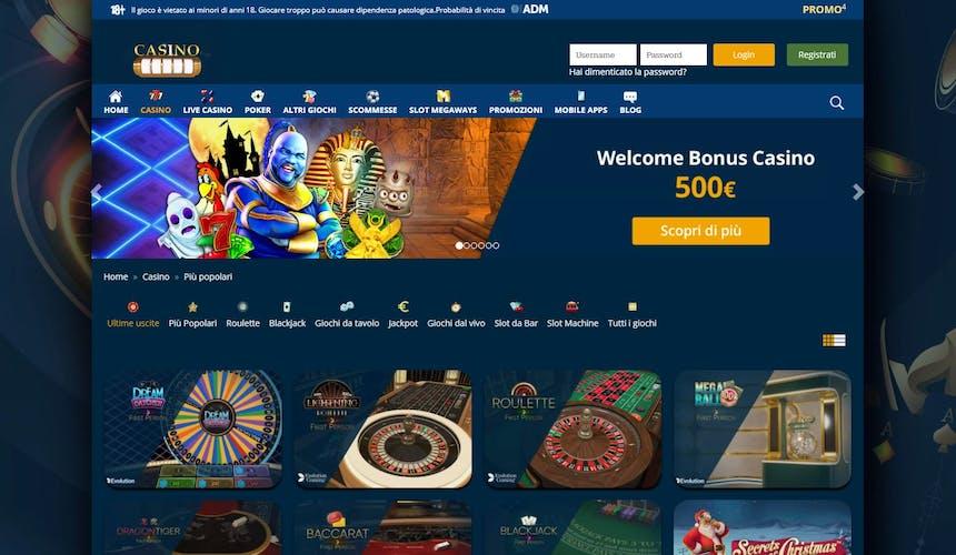 Slot online con CasinoMania