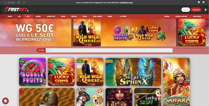 Slot online con Fastbet