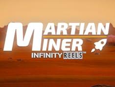 Martian Miner Infinity Reels logo