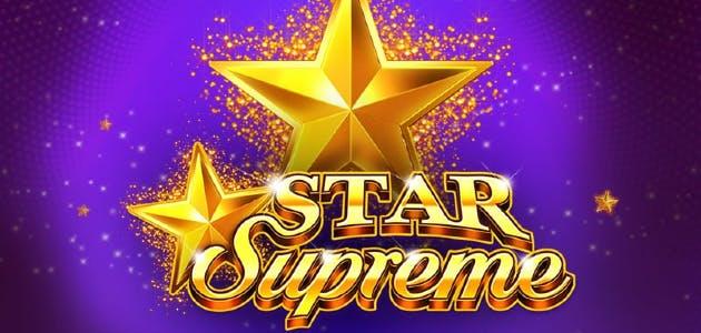 Greentube Novomatic lancia la slot Star Supreme
